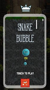 screenshot of Snake Bubble version 1.2