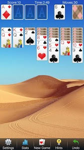 screenshot of Solitaire Card Games Free version 4.4.1