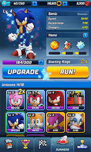 screenshot of Sonic Forces version 2.9.0