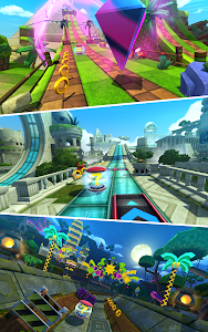 screenshot of Sonic Forces version 2.3.1