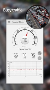 screenshot of Sound Meter & Noise Detector version 2.9.2