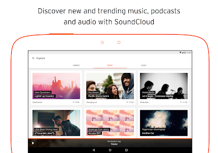 screenshot of SoundCloud - Music & Audio version 2016.02.26-release
