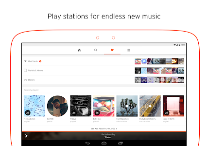 screenshot of SoundCloud - Music & Audio version 2016.12.15-release