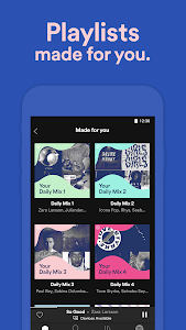 screenshot of Spotify Music version Varies with device