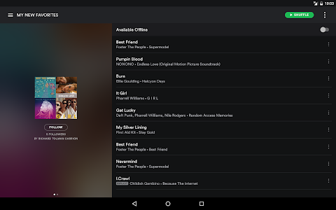 screenshot of Spotify - Music and Podcasts version 8.4.94.817