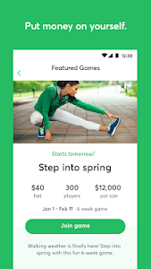 screenshot of StepBet: Get Active & Stay Fit version 1.25