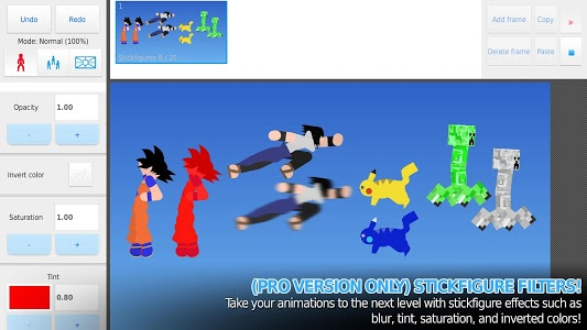 screenshot of Stick Nodes: Stickman Animator version 3.0.4