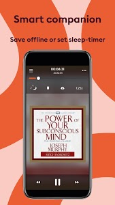 screenshot of Storytel: Audiobooks and E-books version Varies with device