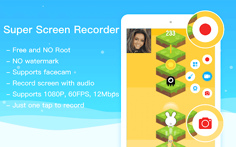screenshot of Super Screen Recorder–No Root REC & Screenshot version 4.0.0.5