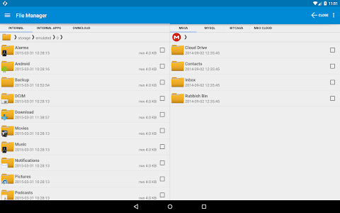 screenshot of Synchronize Ultimate version 4.4.12