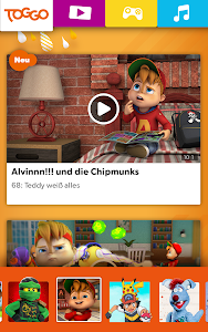 screenshot of TOGGO - Videos und Kinderserien version 3.0.3