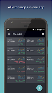 screenshot of TabTrader Buy Bitcoin and Ethereum on exchanges version 3.4.4