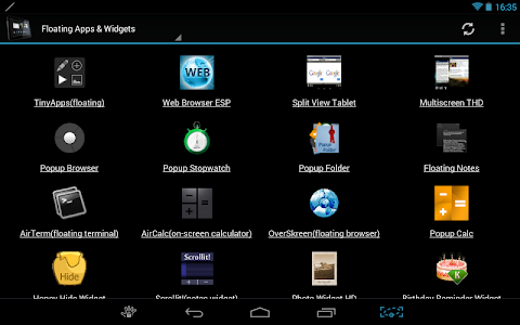 screenshot of Tablet Market version 4.0.10
