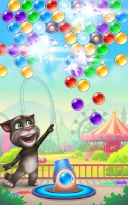 screenshot of Talking Tom Bubble Shooter version 1.5.3.20