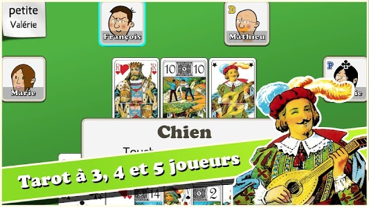 screenshot of Tarot des héros version 1.4.2