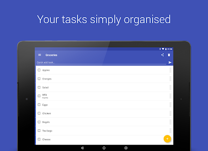 screenshot of Tasks: Todo list, Task List, Reminder version 1.34.4