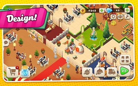 screenshot of Tasty Town version 1.16.0