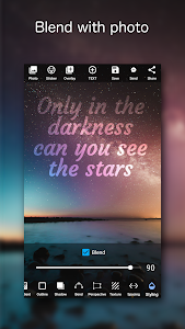 screenshot of Add Text on Photo: Design Text Style w/ 800+ Fonts version Varies with device