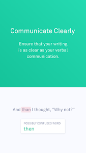 screenshot of Grammarly Keyboard — Type with confidence version 1.2.0.12