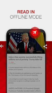 screenshot of News by The Times of India Newspaper - Latest News version Varies with device