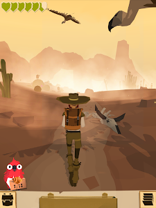 screenshot of The Trail version 6969