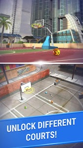 screenshot of Shooting Hoops - 3 Point Basketball Games version 3.4
