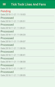 screenshot of Tick Tock Likes And Fans version v1.3