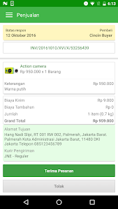 screenshot of Seller Tokopedia - Jual Online version 1.2.0