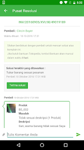 screenshot of Tokopedia Seller - Jual Online version 1.0.3