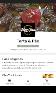 screenshot of Torta & Pão version 2.13.2