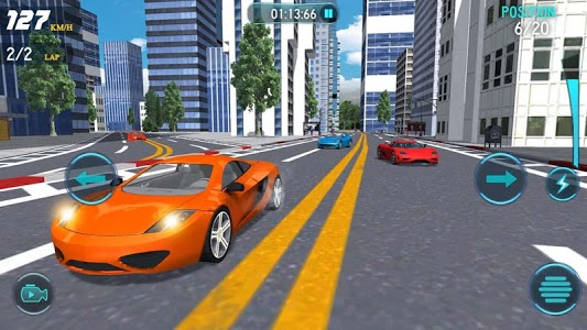 screenshot of Traffic Turbo Drift version 1