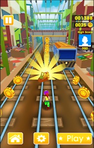 screenshot of Super Subway Surf Hours version 1.1