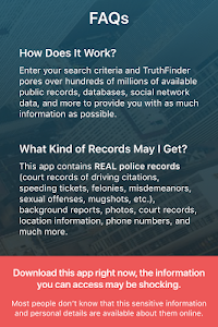 screenshot of Background Check & People Search | TruthFinder version 1.21.3