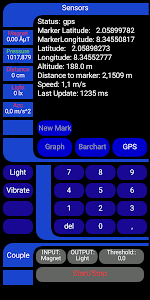screenshot of Trycorder version 1.0