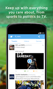 screenshot of Twitter version 5.61.0