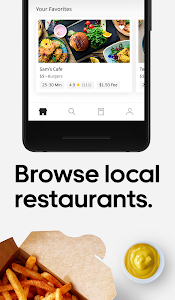 screenshot of Uber Eats: Local Food Delivery version 1.205.10005