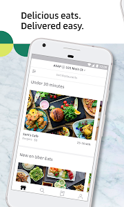 screenshot of Uber Eats: Local Food Delivery version 1.170.10002