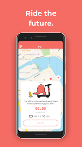 screenshot of VOI Scooters - Get Magic Wheels version 2.21.1