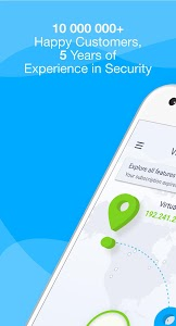 screenshot of KeepSolid VPN Unlimited | Free VPN for Android version 5.7