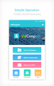screenshot of Video to MP3 Converter,Video Compressor-VidCompact version 3.1.2