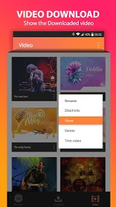 screenshot of Video Downloader version 1.2.3