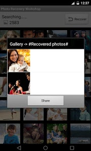 screenshot of Deleted Video Recovery Workshop version 3.9
