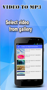 screenshot of Video to Mp3 Converter version 2.0