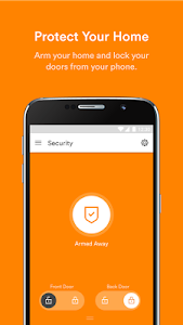 screenshot of Vivint Smart Home version Varies with device