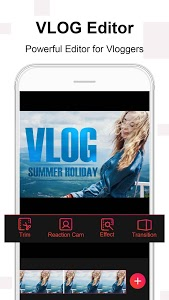 screenshot of Vlog Star for YouTube - free video editor & maker version 2.5.9