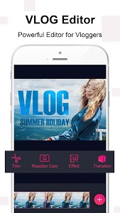 screenshot of Vlog Star for YouTube - free video & photo editor version 2.4.2