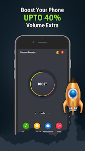 screenshot of Volume Booster and Equalizer, MP3 Music Player version 3.0.3