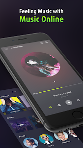 screenshot of Volume Booster and Equalizer, MP3 Music Player version 3.0.9