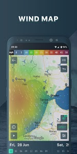 screenshot of Windy.app: wind forecast & marine weather version 6.7.0