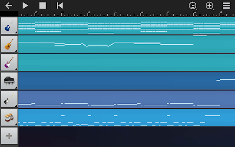 screenshot of Walk Band - Multitracks Music version Varies with device